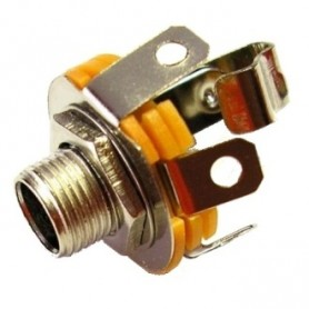 JR 1803 - PRESA JACK 6,3 MM. MONO DA PANNELLO