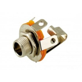 JR 1804 - PRESA JACK 6,3 MM. MONO DA PANNELLO 301020