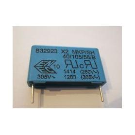 1,5UF-275V MKP-X2 CONDENSATORE ANTIDISTURBO RM=27,5