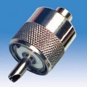 JR 6709 - SPINA UHF VOLANTE A VITE PER RG 59