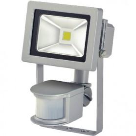 LAMPADA A LED CON SENSORE 10W 700lm Grigia