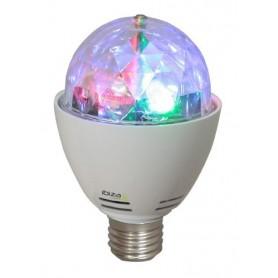 LAMPADA EFFETTI DISCO ROTANTI RGB LED 15-1363
