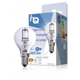 LAMPADINA ALOGENA A SFERA E14 18 W 205 lm 2800 K