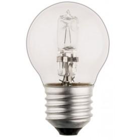 LAMPADINA ALOGENA A SFERA E27 42 W 630 lm 2800 K