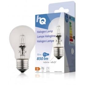 LAMPADINA ALOGENA FORMATO GLS CLASSICO E27 53W 850 lm 2800 K