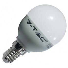 LAMPADINA LED A BULBO E14  6W BIANCO CALDO
