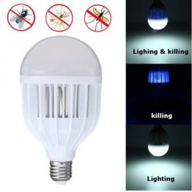 LAMPADINA LED ANTIZANZARE E27 9W DYT80 STERMINATORE ZANZARE INSETTI + LUCE