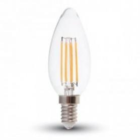 LAMPADINA LED E14 4W 2700K  BIANCO CALDO