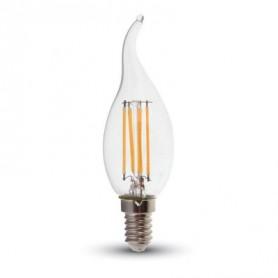 LAMPADINA LED E14 4W 2700K LUCE BIANCO CALDO