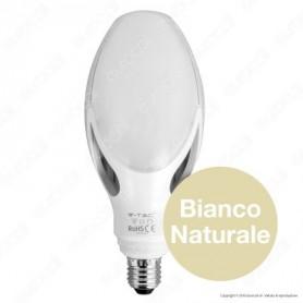LAMPADINA LED E27 40W 4000K LUCE BIANCO NATURALE