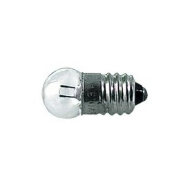 LAMPADINA MINIATURA SFERICA 6,0V-0,05A-0,3W E10
