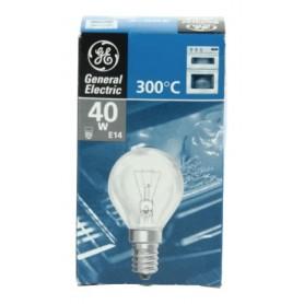 LAMPADINA PER FORNO  E14 40 W 230 V 300° C