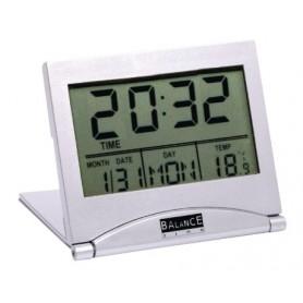 LCD TRAVEL ALARM CLOCK