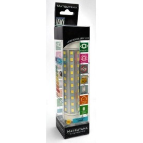 LED LAMP - 10W - R7S - 3000°K - LUCE BIANCO CALDO - CLASSE A+ 9050 Lm ALU+ PLA