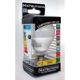 LED LAMP - 6W - E14 - 4000°K - BIANCA NATURALE - CLASSE A+ 500 Lm