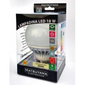 LED LAMP-18W-E27-4000°K-Luce Bianca Naturale-1630 Lm