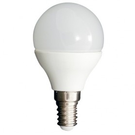 LED MINI GLOBO 6W ATTACCO E14 bianco naturale