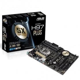 MB ASUS H97-PLUS LGA1150 H97 4D3DC-1600 VGA HDMI-DVI D-RGB