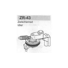 MECCANICA VIDEO HITACHI ZR-43
