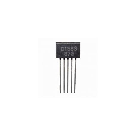 2SC1583 - si-n 50v 0.1a 0.4w 100mhz