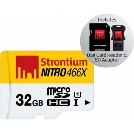 MICRO SD DA 32GB CON ADATTATORE USB e SD