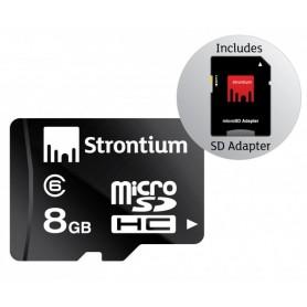 MICRO SD DA 8 GB CON ADATTATORE SD