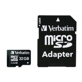 MICRO SDHC 32 Gb - CLASSE 10 CON ADATTATORE