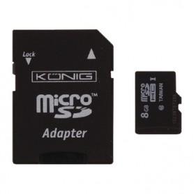 MICRO SDHC MEMORY CARD CLASSE 10 8 GB