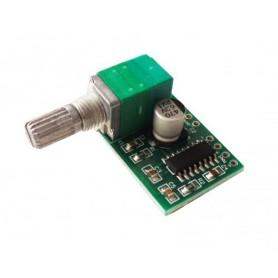 MINI AMPLIFICATORE AUDIO 3W+3W - 5V USB - PCD BOARD LCDN206