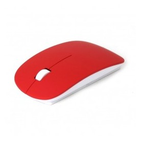 MOUSE PC WIRELESS 2.4Ghz rosso
