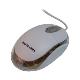MOUSE USB OTTICO BIANCO A FILO