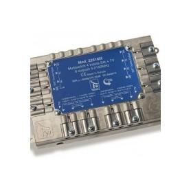 MULTISWITCH A MATRICE ATTIVO 5x5x8  8 dB