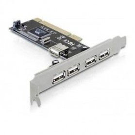 PCI CARD USB 2.0 - 5-PORT 4X EXTERN + 1X INTERNA