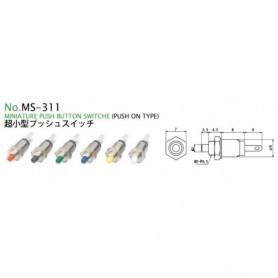 PULSANTE MINIATURA NORMALMENTE APERTO M3S-311