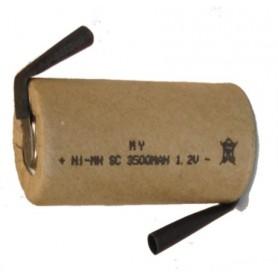 RECH BATTERY SUB C NI-MH 3,500mAh