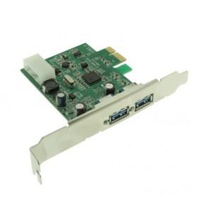 SCHEDA PCI EXPRESS CON 2 PORTE USB 3.0
