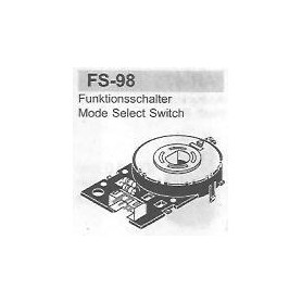 SELETTORE FUNZIONI FISHER FS-98