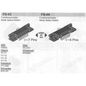 SELETTORE FUNZIONI HITACHI FS-43