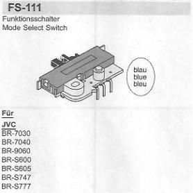 SELETTORE FUNZIONI JVC FS-111