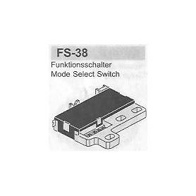 SELETTORE FUNZIONI PANASONIC FS-38