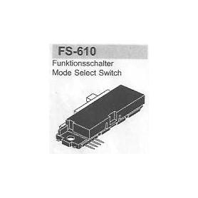 SELETTORE FUNZIONI SAMSUNG FS-610