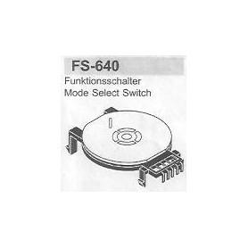 SELETTORE FUNZIONI SAMSUNG FS-640
