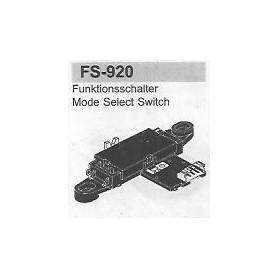 SELETTORE FUNZIONI SANYO FS-920