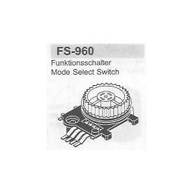 SELETTORE FUNZIONI SANYO FS-960