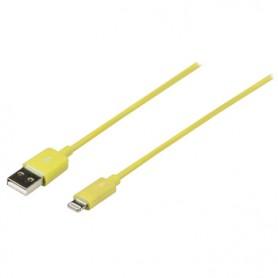 SINCRONIZZAZIONE E RICARICA APPLE LIGHTNING - USB A MASCHIO 1mt