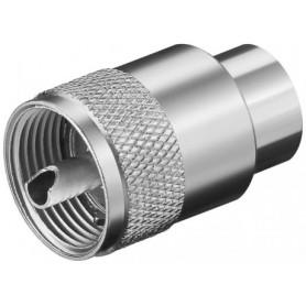 SPINA UHF PER CAVI DI MAX. 10 mm RG213-U