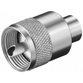 SPINA UHF PER CAVI DI MAX. 6 mm RG59-U