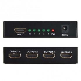 SPLITTER HDMI 1080p 3D 4 USCITE