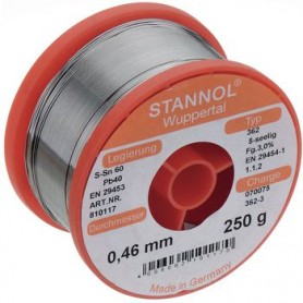 STAGNO Sn60/Pb40 100 g 0.70 mm