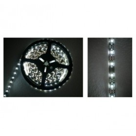 STRISCIA LED FLESSIBILE SILICONATA 300 LED SMD 3528 BIANCHI FREDDI 5 MT led piccoli